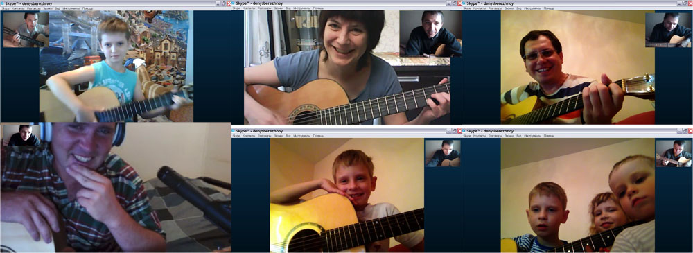 Webcam Singing and Guitar Lessons by Denys Berezhnyi